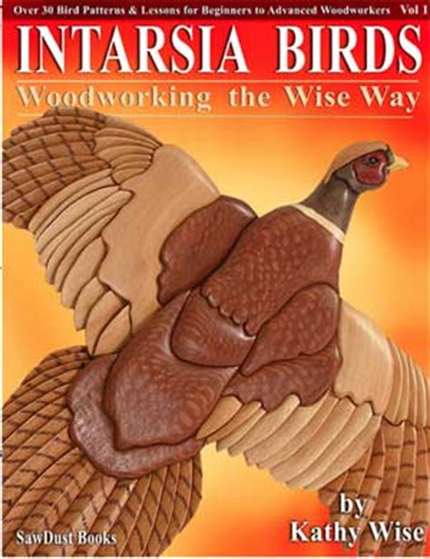 kathy wise intarsia patterns books woodworking
