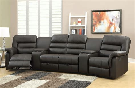 Acme Furniture Sofa Home Theater Seating Leather Home Theatre Set Home