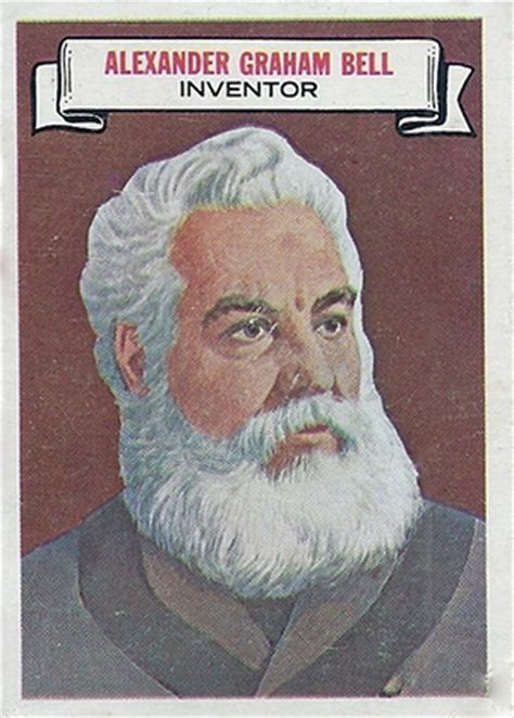 alexander graham bell biography in french 1967 topps who am i trading cards checklist set info
