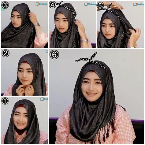 Tutorial Pashmina Ootd | beberapa ootd tutorial hijab tutorial pashmina by anita