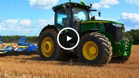 si鑒e de tracteur agricole essai tracteur deere 7310r test drive