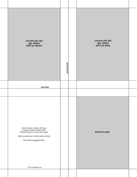 free greeting card templates for mac free blank greeting card templates for word image