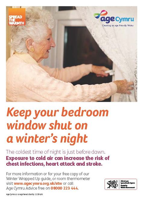 Ideal Living Room Temperature by Age Cymru 166 Winter Health Resources