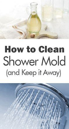 How To Clean Mold In Bathroom by 1000 Ideas About Cleaning Shower Mold On