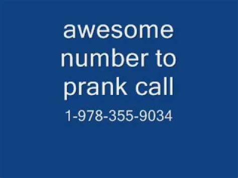 fan phone number awesome number to prank call