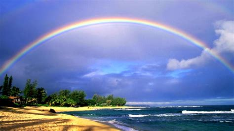 beautiful nature wallpaper big size   rainbow