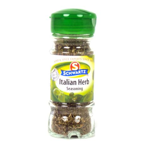 Tesco Italian Seasoning Uk schwartz italian herb seasoning delivered worldwide by britishfoodstoreonline co uk