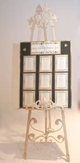 shabby chic easel provincial shabby chic display easel events2celebrate wedding planning