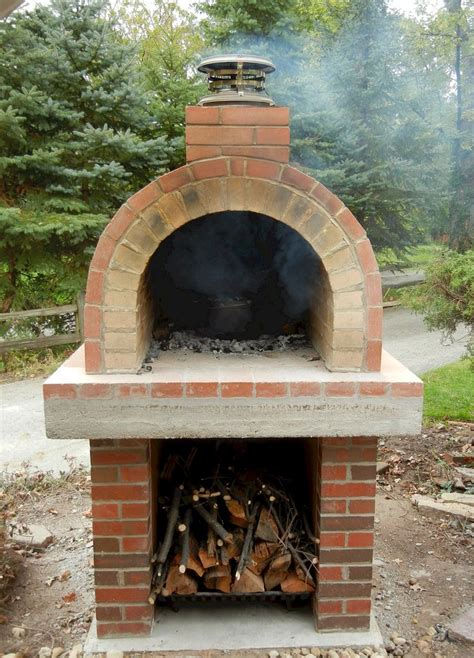 pizza oven backyard this beautiful wood fired oven resides in northern