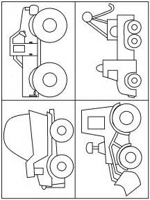 construction vehicles free coloring pages
