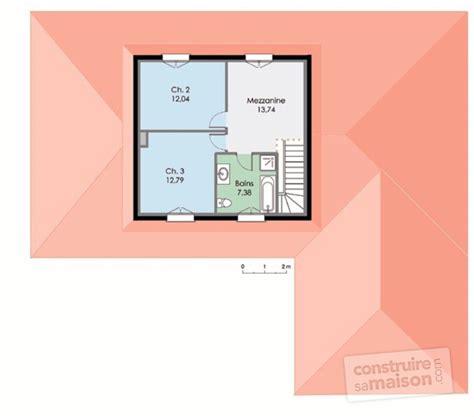 plan images maison contemporaine 3 d 233 tail du plan de maison