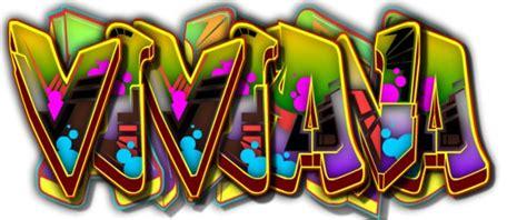 nombre viviana en graffiti buscar  google grafitii