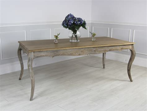 Farmhouse Oak Dining Table New Style Solid Limed Oak Farmhouse Dining Table Ebay