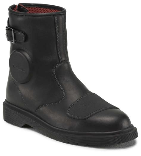 slip on biker boots inside the dr martens motorcycle boots morebikes