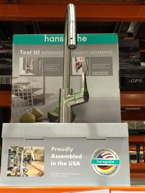 Hansgrohe Kitchen Faucet Costco ? Wow Blog