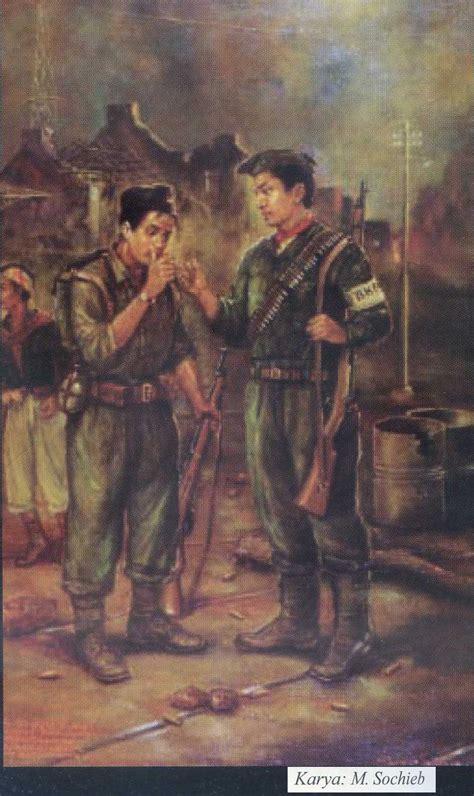film dokumenter perjuangan 10 november peristiwa 10 november 1945 dalam lukisan karya sochieb