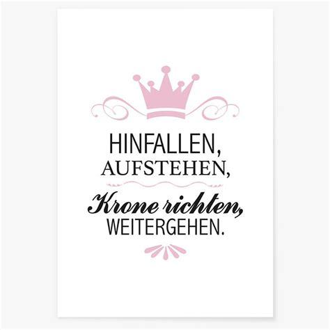 Spruch Krone Richten by Spruch Hinfallen Aufstehen Spruch Hinfallen Aufstehen