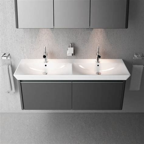 double basin unit bathroom vitra designer collection of bathroom products ukbathrooms