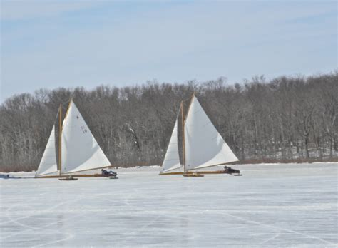 ice boat ice boating tugster a waterblog