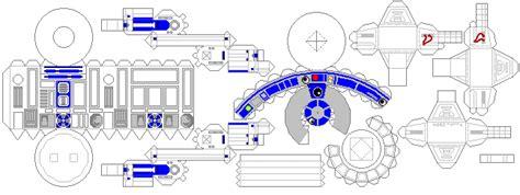 r2d2 template wars paperbotz