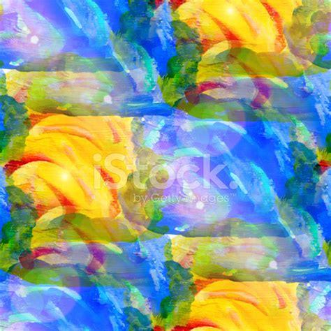 sun glare pattern sun glare grunge texture watercolor seamless blue green