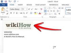create business card in word 3 ways to make business cards in microsoft word wikihow