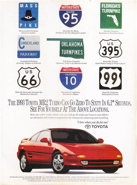 vintage toyota ad toyota mr2 turbo advertisement vintage magazine ad