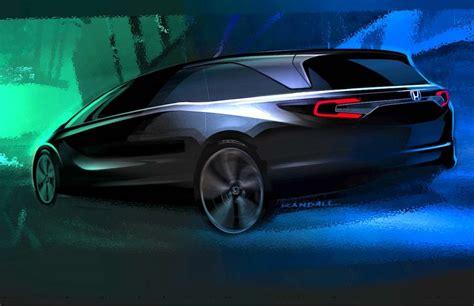 honda debuts 2018 odyssey project 2018 honda odyssey minivan will debut at the 2017