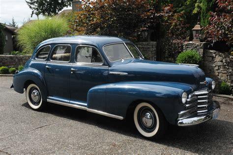 4 Door Chevy by 1947 Chevrolet Fleetmaster 4 Door Deluxe Sport Sedan