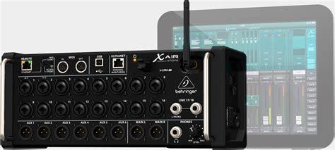 Katalog Mixer Behringer behringer xr18 x air stagebox mit steuerung