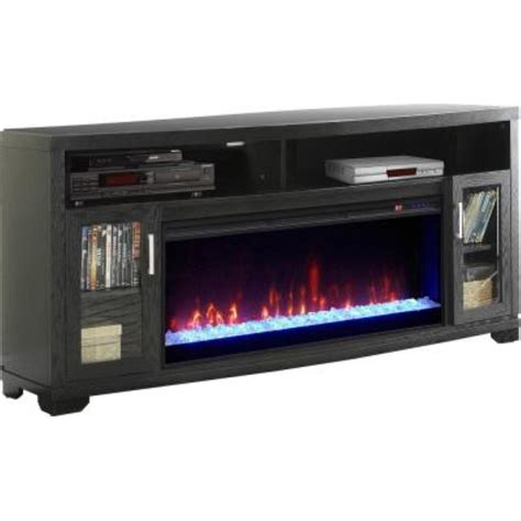 Media Stand With Fireplace by Muskoka Mtvs4242se 70 Quot Electric Fireplace Media Console