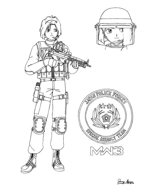 coloring pages of advanced warfare free advance warfare coloring pages