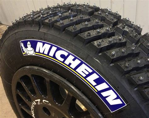 blue michelin tires logo tire stickers