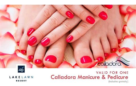 Manicure Pedicure Gift Card - gift cards lake lawn resort