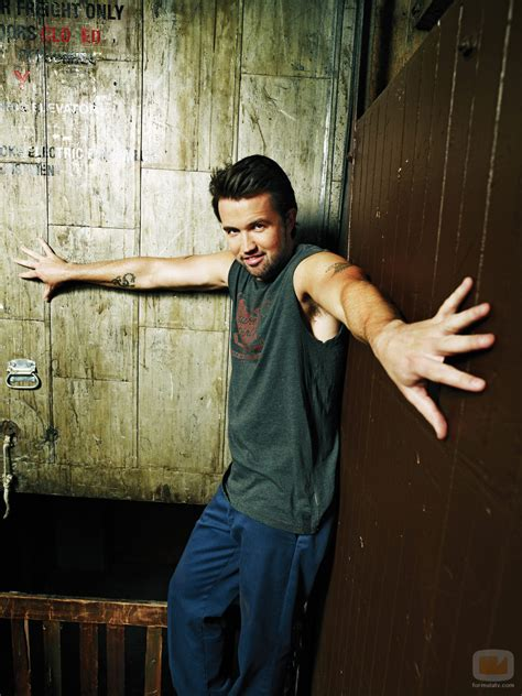 rob mcelhenney tattoos it s always in philadelphia delightfulboys rob