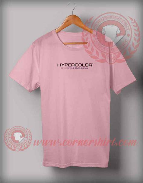 hyper color shirt hypercolor graphic t shirt cornershirt