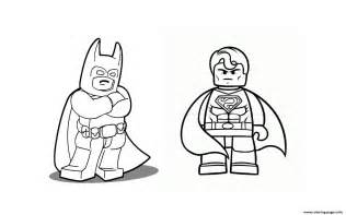 Print batman with superman coloring pages free printable
