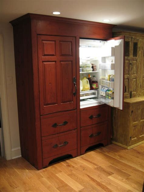 timeless kitchen cabinetry top 25 ideas about refrigerator covers on pinterest