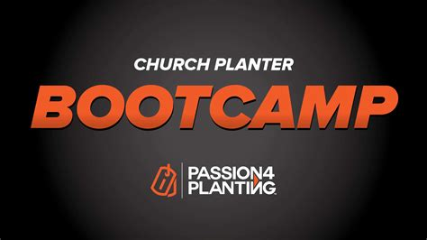church planting boot camp