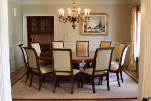 round dining room table seats 8 10 decor