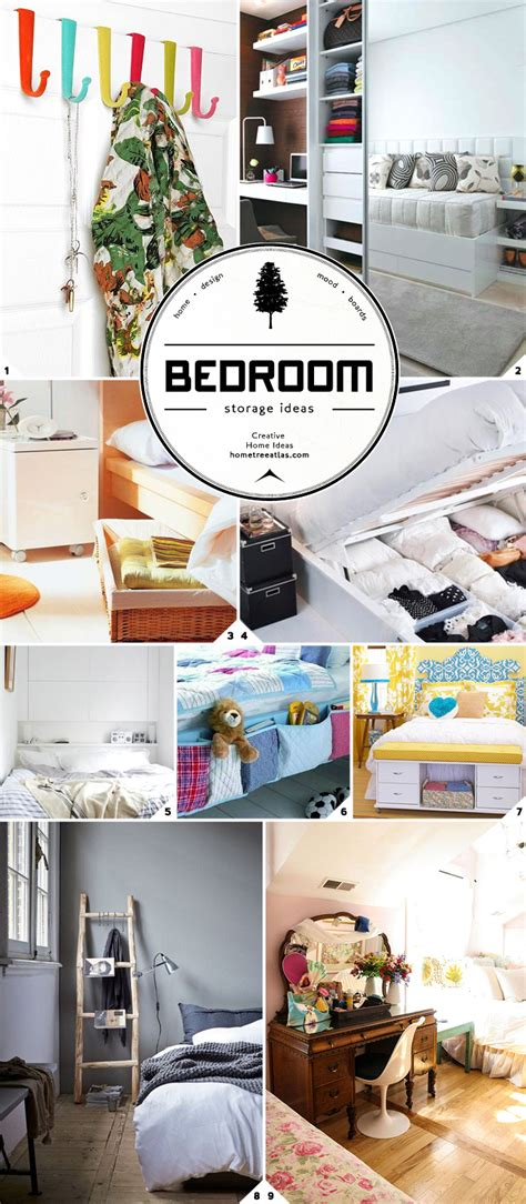 Space Saving Storage Ideas Bedroom by Space Saving And Stylish Bedroom Storage Ideas Home Tree