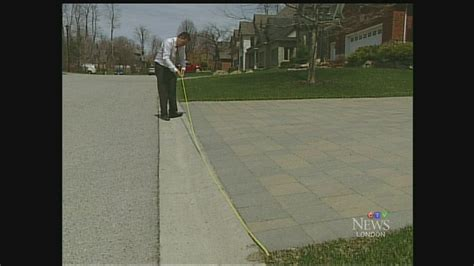 city set to clarify rules around driveway size ctv london news