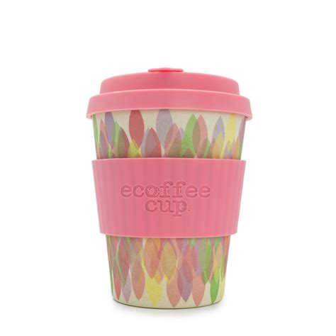 Biotouch Micropigment 12 Oz Pink pink 12oz ecoffee cup no excuse for single use