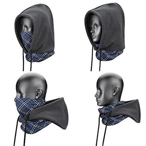 Special 4 In 1 Thermal Fleece Balaclava Masker Kupluk Pol weanas 174 4 in 1 cover mask balaclava hat veil thermal warm wind proof neck