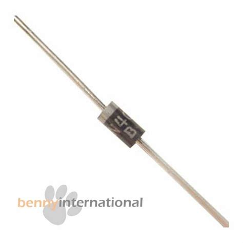 data dioda in4007 20x 1n4007 1000v 1a rectifer diode in4007 pack lot aus stock ebay