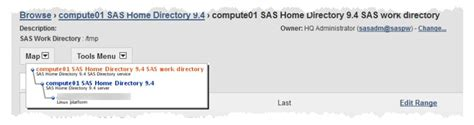 monitor saswork from environment manager sas users