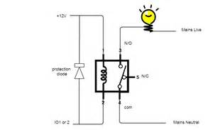 small relay switch small wiring diagram and circuit schematic