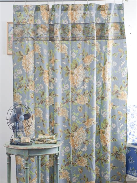 Harriet S Hydrangea Shower Curtain New Arrivals Bedding