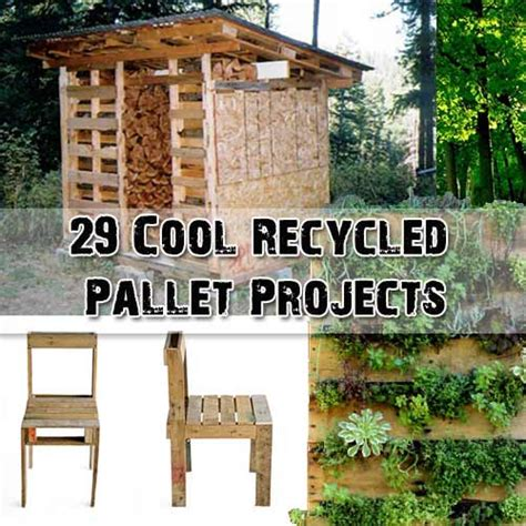 cool pallet projects 29 cool recycled pallet projects shtf prepping central