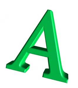 green letter a free stock photo domain pictures
